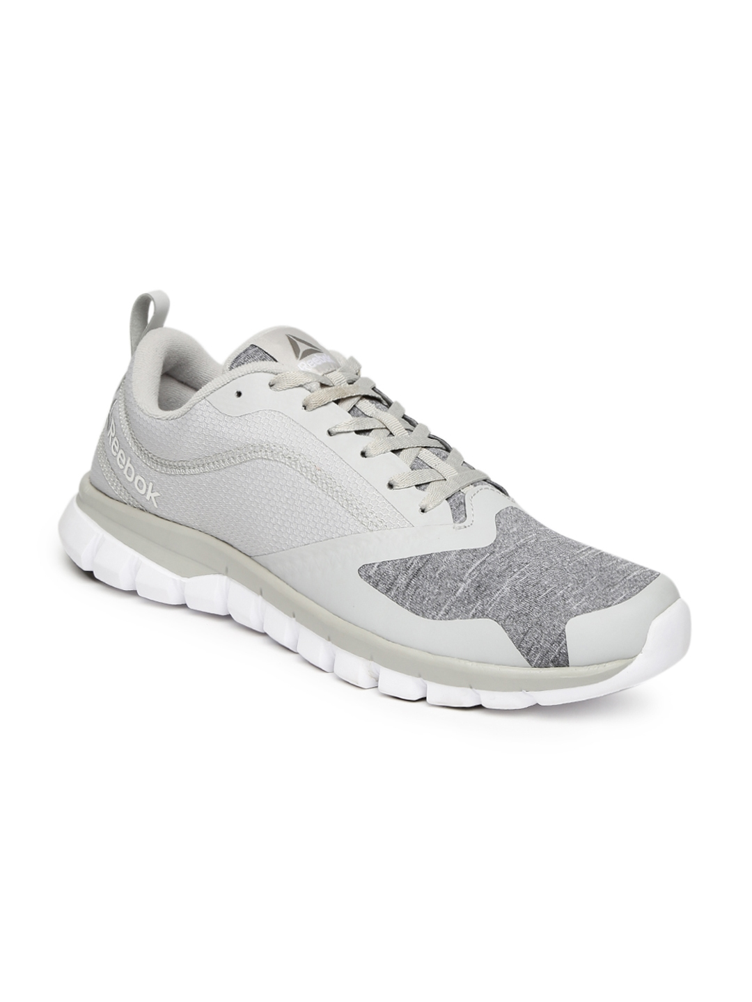 Buy Reebok Men Grey Sublite Authentic 4.0 Running Shoes - Sports ... df2e98540