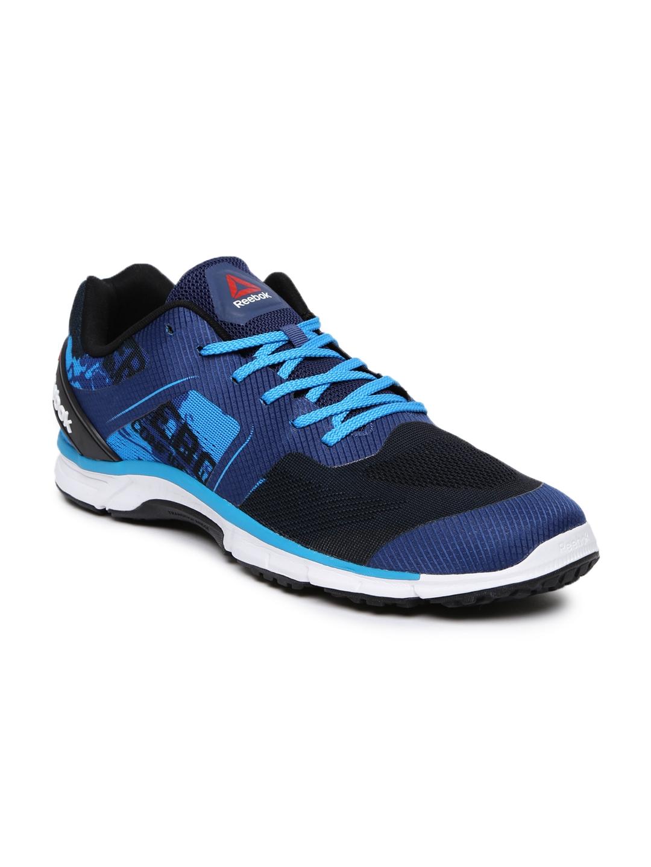 1657c796022 Buy Reebok Men Blue   Black Sierra Running Shoes - Sports Shoes for ...