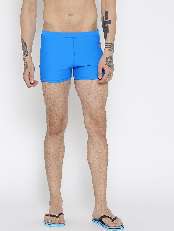 83cba343e8c2c Buy Reebok Blue PNL Trunk 2 Swim Shorts BC4466 - Swimwear for Men ...