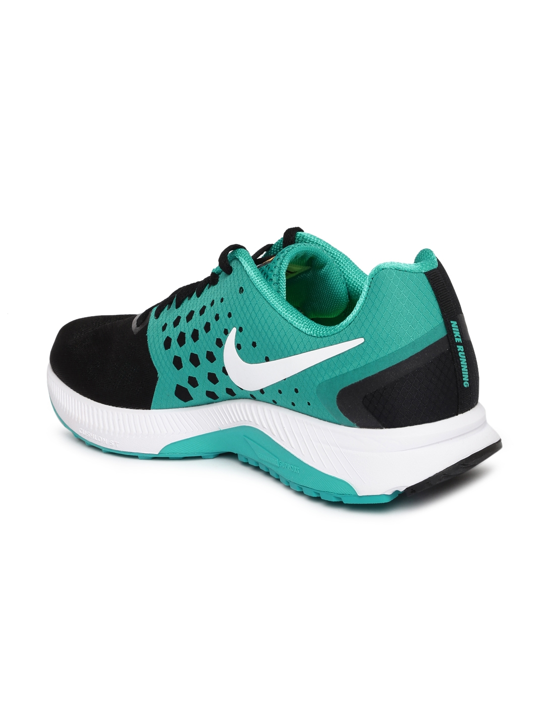 7dcefbbeafc1 Buy Nike Men Black ZOOM SPAN Running Shoes - Sports Shoes for Men ...