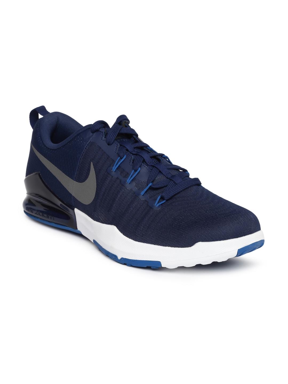 43de79e7e9d3 Buy Nike Men Navy Blue ZOOM TRAIN ACTION Training Shoes - Sports ...