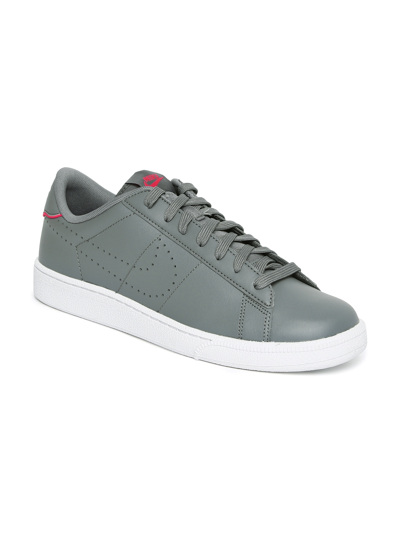 sale retailer 4620f f272d Nike Men Grey Leather TENNIS CLASSIC CS Shoes
