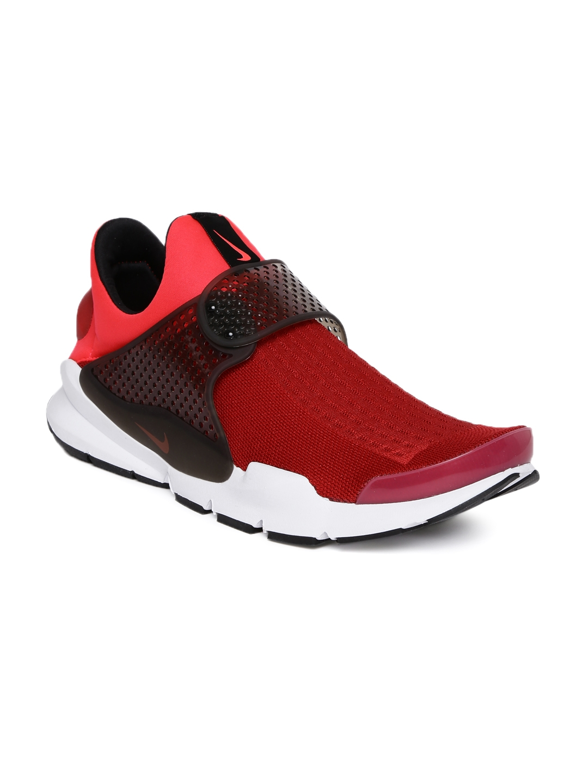 ba91d3b1 Buy Nike Men Red SOCK DART KJCRD Slip On Sneakers - Casual Shoes for ...