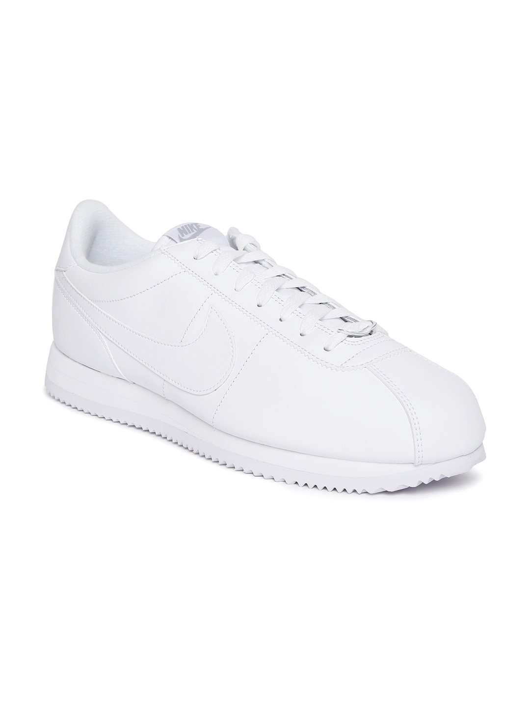 official photos 4cd79 44f31 Nike Men White Cortez Basic Leather Sneakers