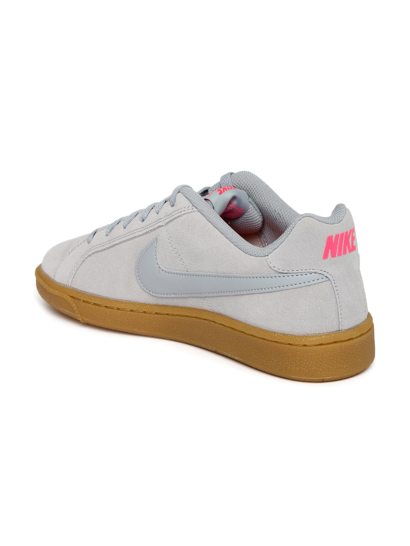 83a44866d5d7cc Buy Nike Men Grey COURT ROYALE SUEDE Sneakers - Casual Shoes for Men ...