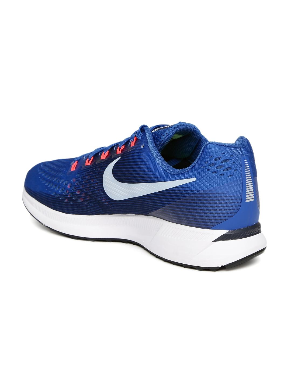 776ded06ca8e6 Buy Nike Men Blue AIR ZOOM PEGASUS 34 Running Shoes - Sports Shoes ...