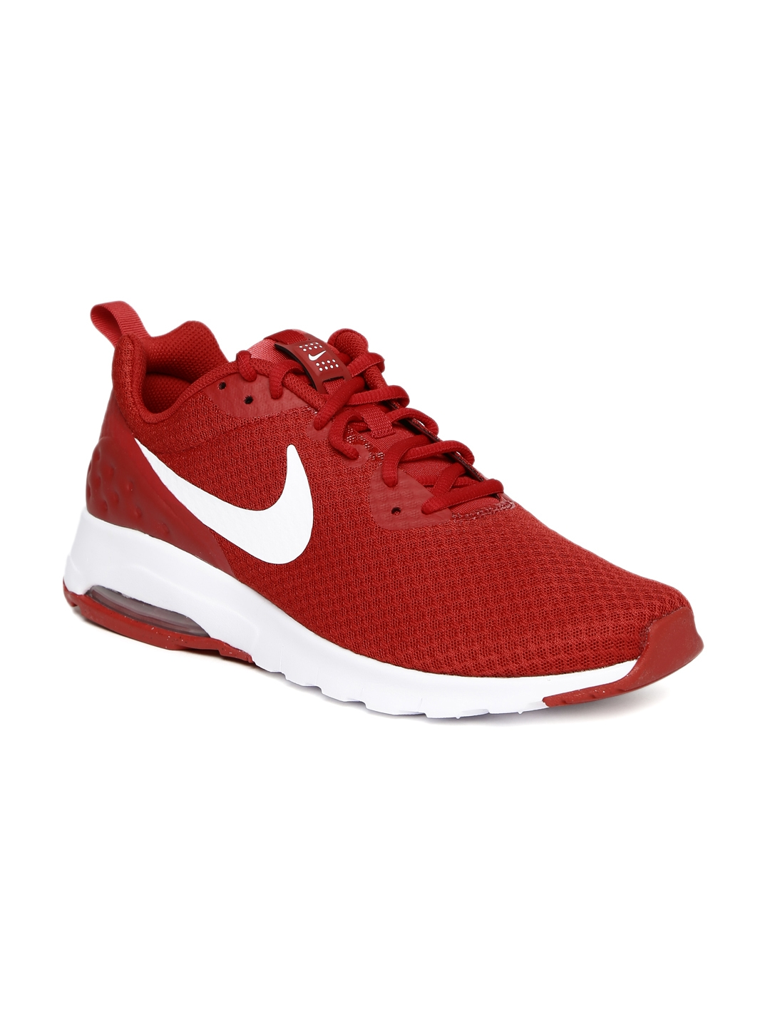 wholesale dealer 8c2fd bba29 Nike Men Red AIR MAX MOTION Sneakers