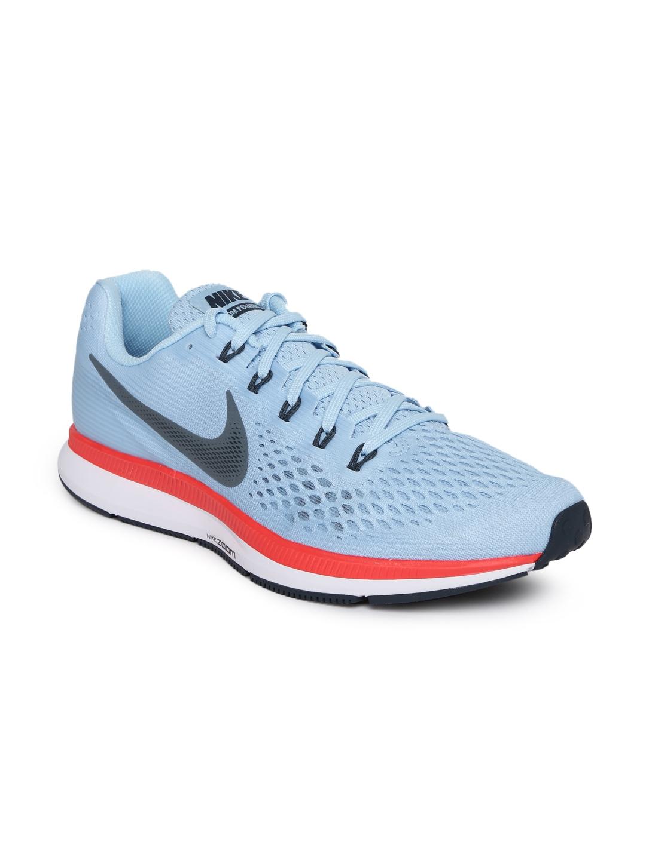 8e862fa1eb20a Buy Nike Men Blue AIR ZOOM PEGASUS 34 Running Shoes - Sports Shoes ...