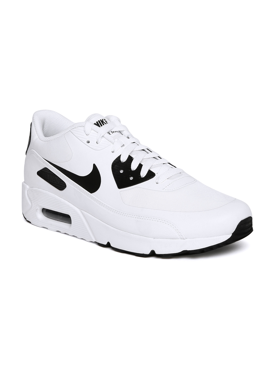 size 40 bde6b d87a0 Nike Men White AIR MAX 90 ULTRA 2.0 ESSENTIAL Sneakers