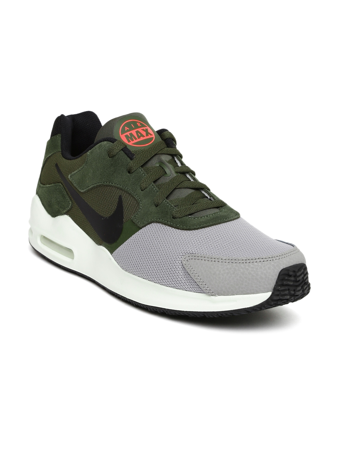 timeless design 1eade 0599b Nike Men Grey  Olive Green AIR MAX GUILE Sneakers