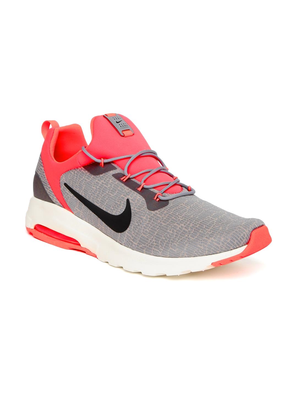 buy popular 56eed 81248 Buy Nike Men Grey AIR MAX MOTION RACER Sneakers - Casual ...