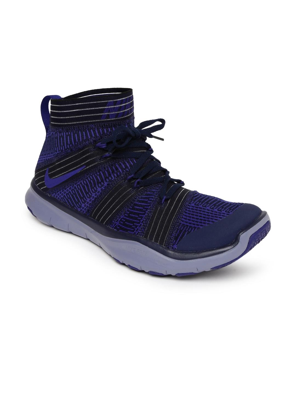 d1263c09008 Buy Nike Men Purple FREE TRAIN VIRTUE High Top Training Shoes ...