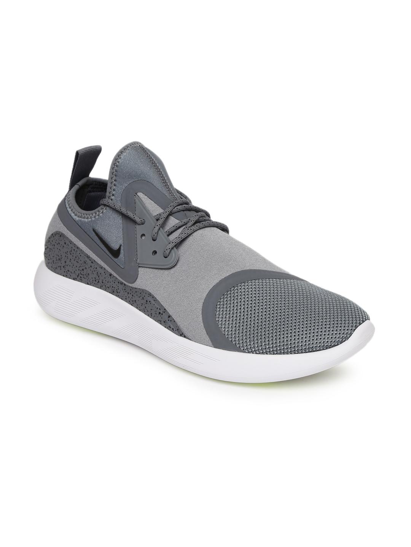 4d38218fd69f Buy Nike Men Grey Printed LUNARCHARGE ESSENTIAL Mid Top Sneakers ...