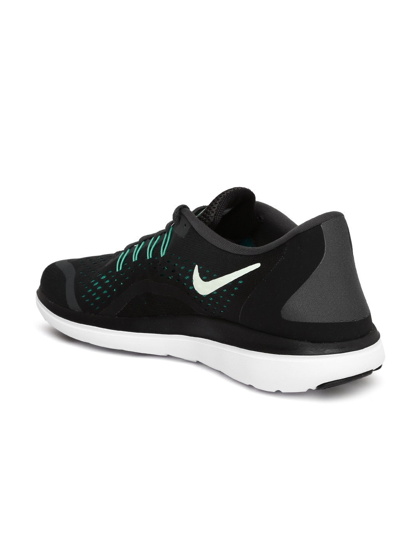 5c03010fc609f Buy Nike Men Black FLEX 2017 RN Running Shoes - Sports Shoes for Men ...