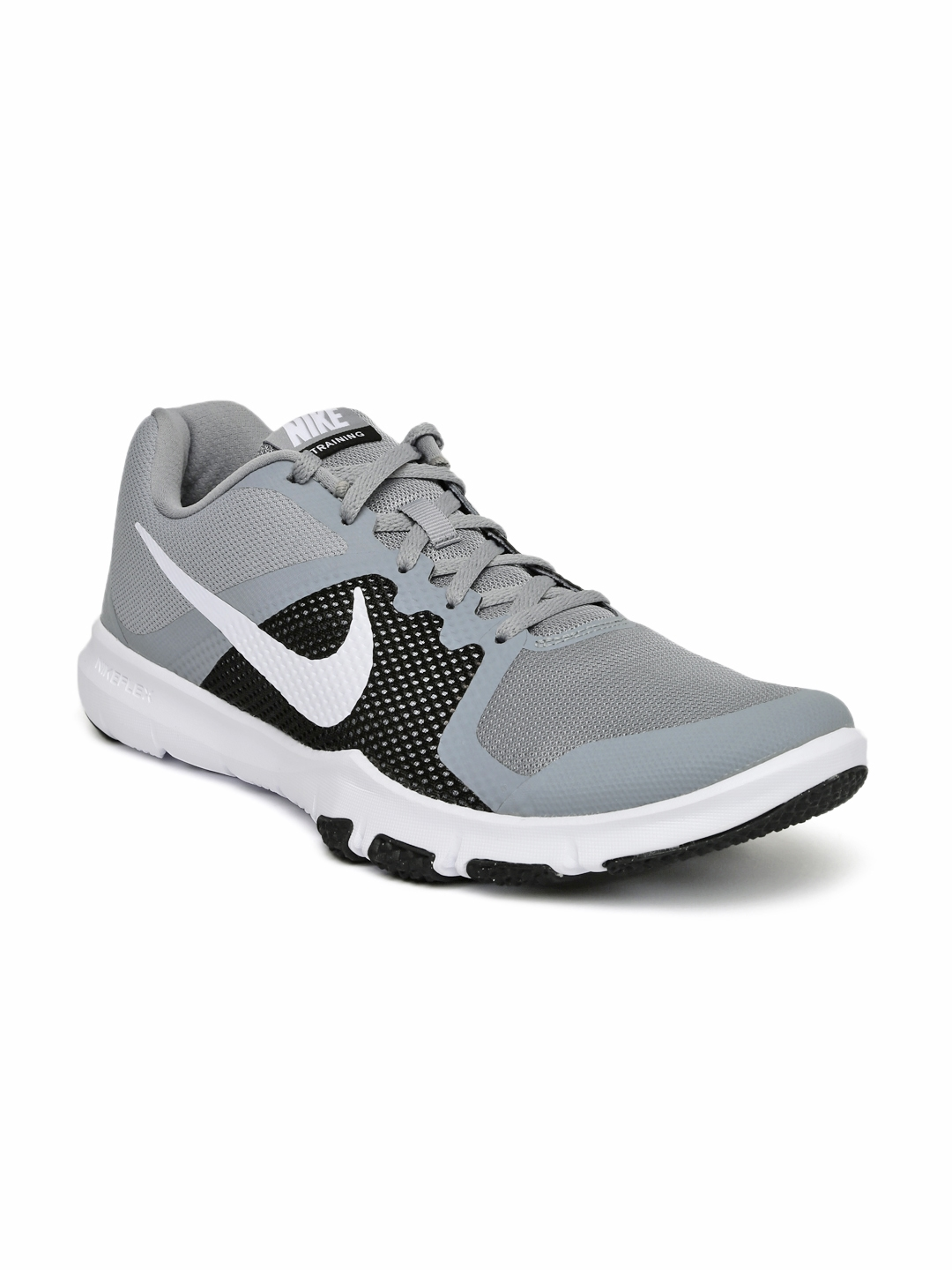 0ea78272fb30 Buy Nike Men Grey NIKE FLEX CONTROL Training Shoes - Sports Shoes ...