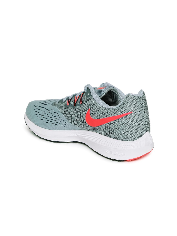 7da6ffb9041 Buy Nike Men Grey NIKE ZOOM WINFLO 4 Running Shoes - Sports Shoes ...