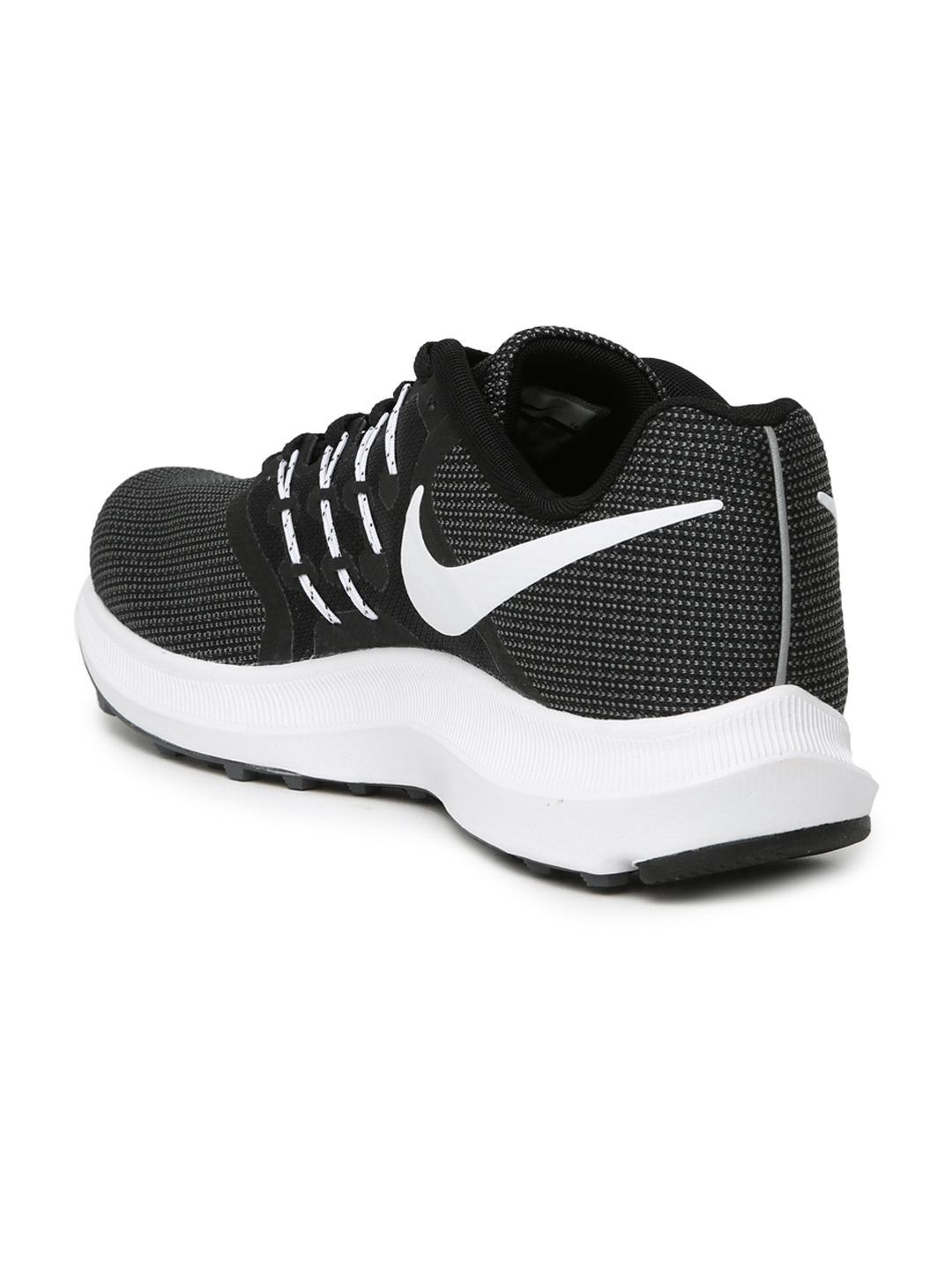 f3a91a7bbd5 Buy Nike Men Black   Charcoal Grey RUN SWIFT Running Shoes - Sports ...
