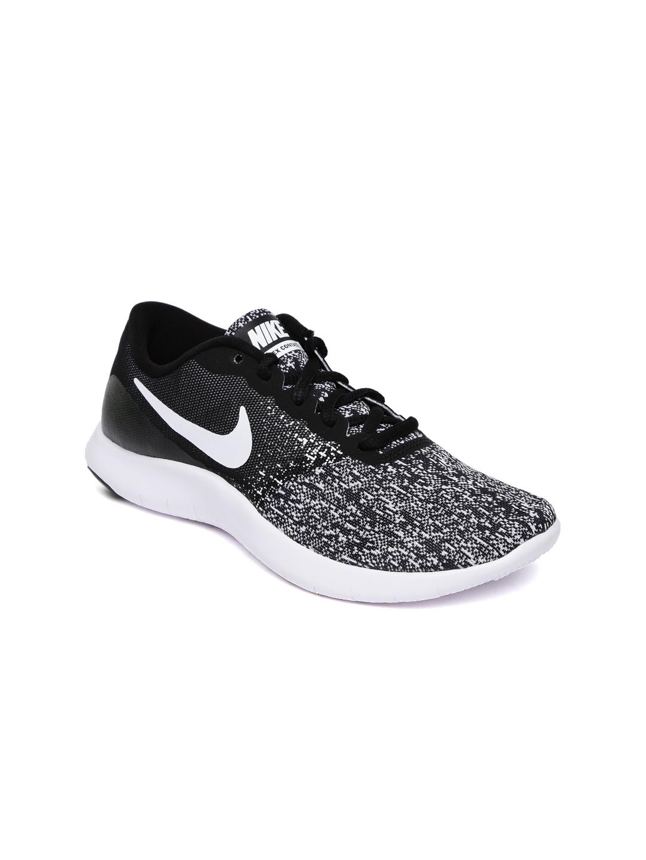 fcaaa7e4c39b Buy Nike Women Black   Grey Flex Contact Running Shoes - Sports ...