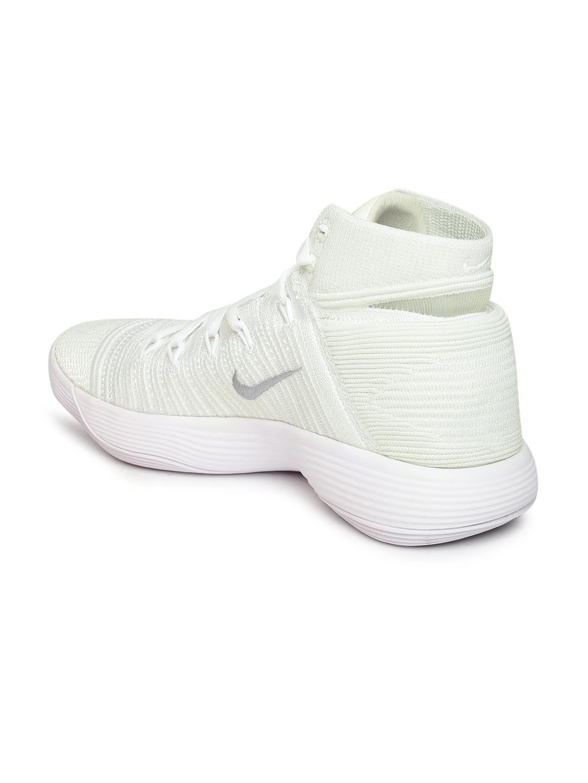 44e7f25e1017 Buy Nike Men White HYPERDUNK 2017 FLYKNIT High Top Basketball Shoes ...
