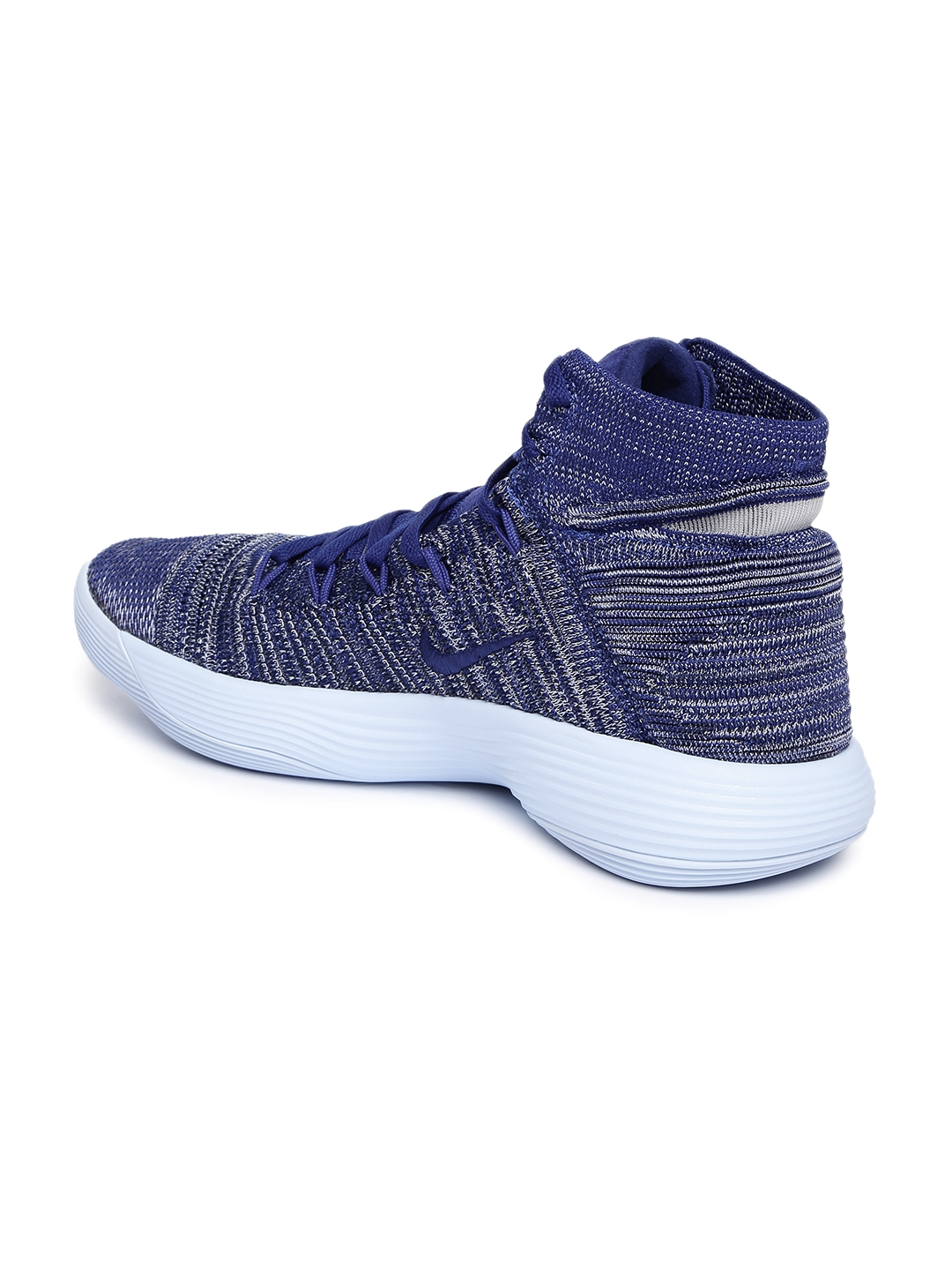 39a0133d8e78 Buy Nike Men Blue HYPERDUNK 2017 FLYKNIT Basketball Shoes - Sports ...