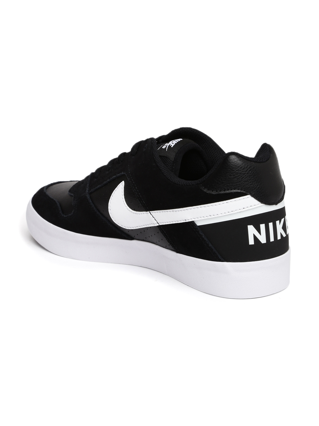 buy popular 37cce adfe0 Nike Men Black Delta Force Skate Shoes