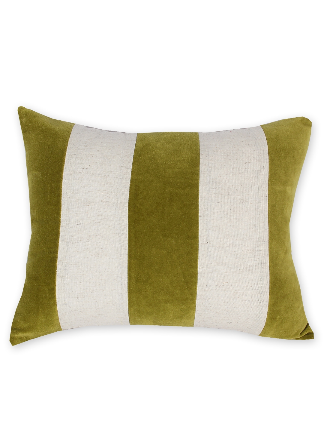 3ff24f5aa24 Buy House This Olive Green & White Set Of 3 Striped 12
