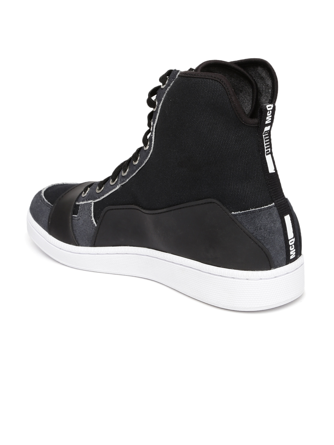 Fashion week Shoes Puma for men high top black for girls