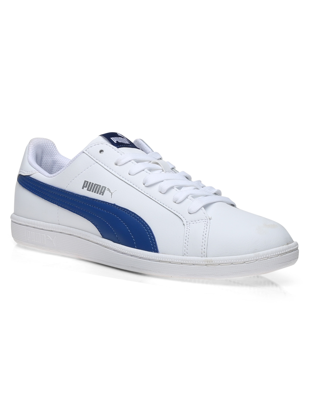 2fb1f1ea42e0 Buy Puma Men White   Blue Sneakers - Casual Shoes for Men 1965580 ...