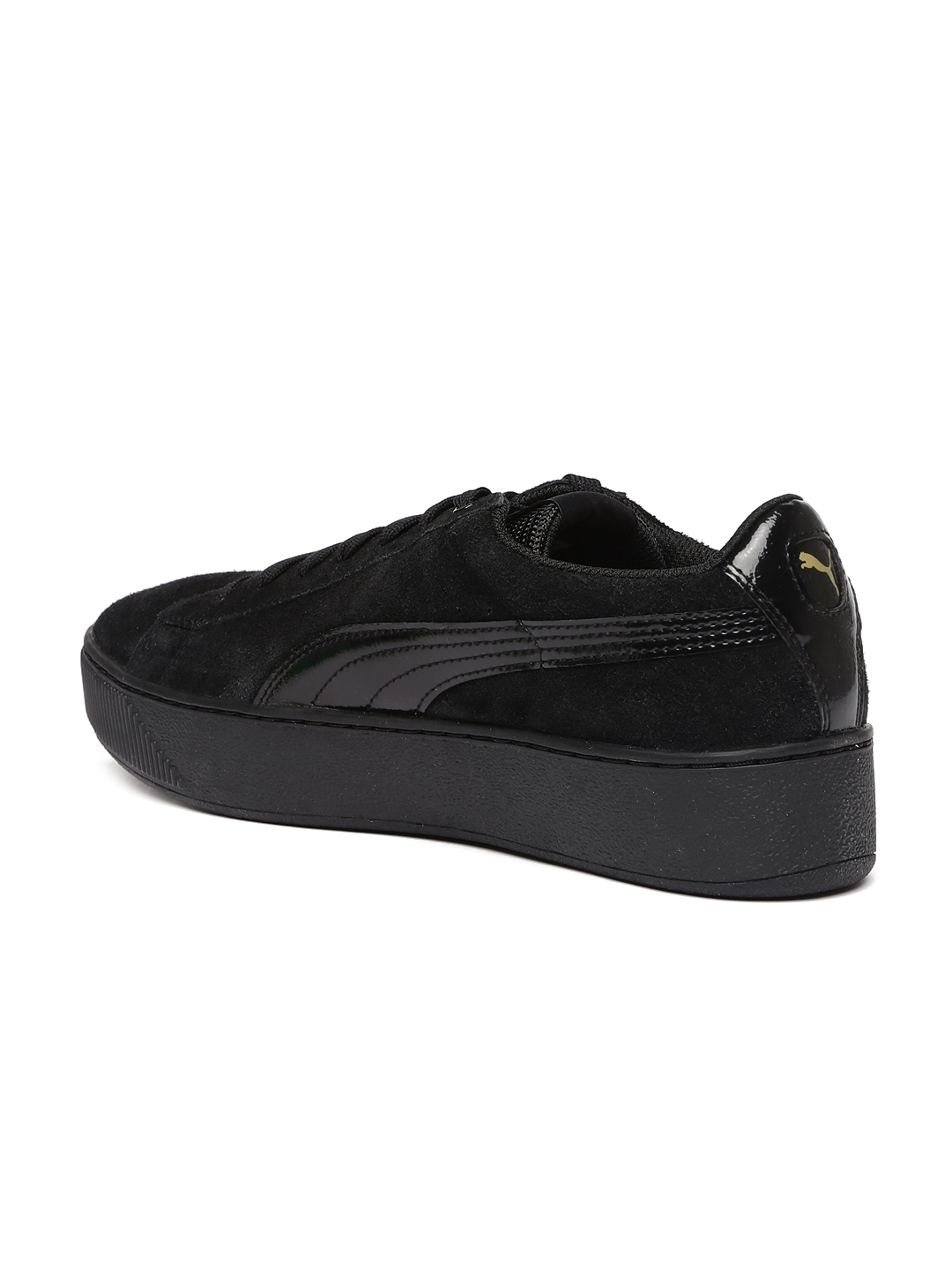 f8b4fb180db5fd Buy Puma Women Black Vikky Platform Sneakers - Casual Shoes for ...