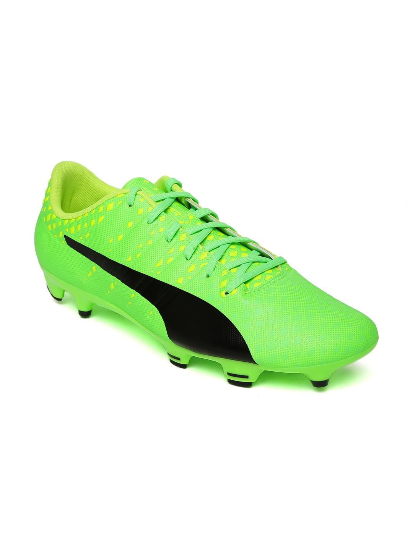 a7ab927938c Buy Puma Men Fluorescent Green Evopower Vigor 3 FG Football Shoes ...