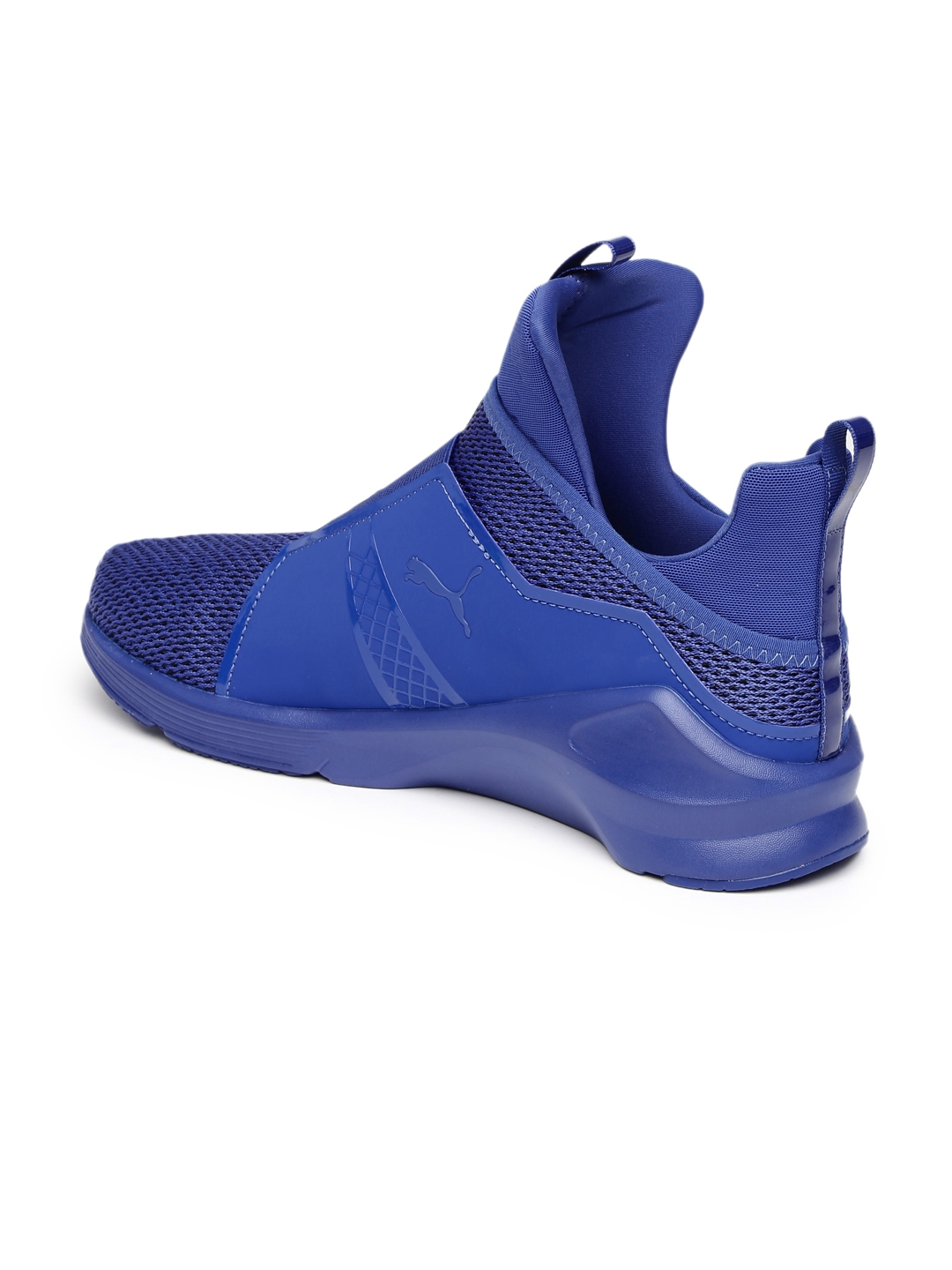 Buy PUMA Women Blue Fierce Knit Training Shoes - Sports Shoes for ... e4cad0bc3