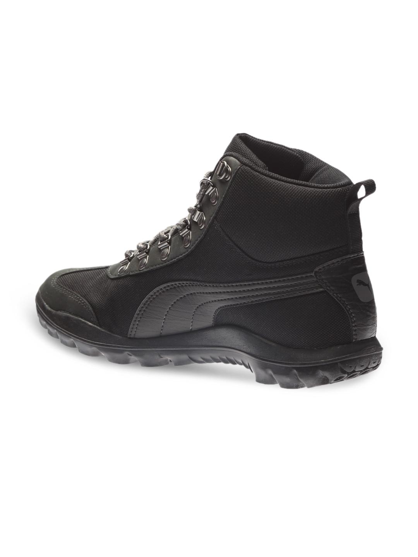 Buy PUMA Men Black Tatau Fur Boot 2 IDP Sneakers - Casual Shoes for ... cbee73075