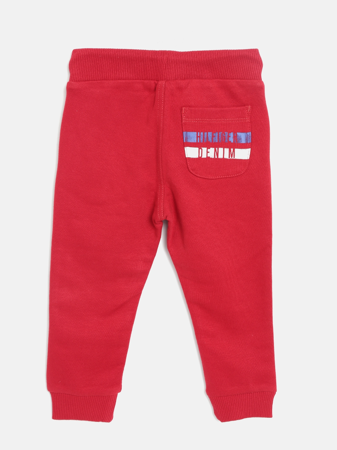 3f5c4059967e Buy Tommy Hilfiger Boys Red Joggers - Track Pants for Boys 1967950 ...