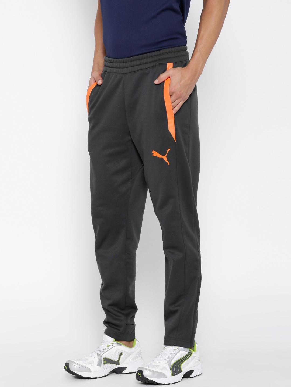 93e78dfb9146 Buy Puma PWRWARM TECH FLEECE Charcoal Grey Track Pants - Track Pants ...
