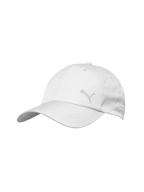 96c23be28c0 Buy PUMA Unisex White Cap - Caps for Unisex 1971148