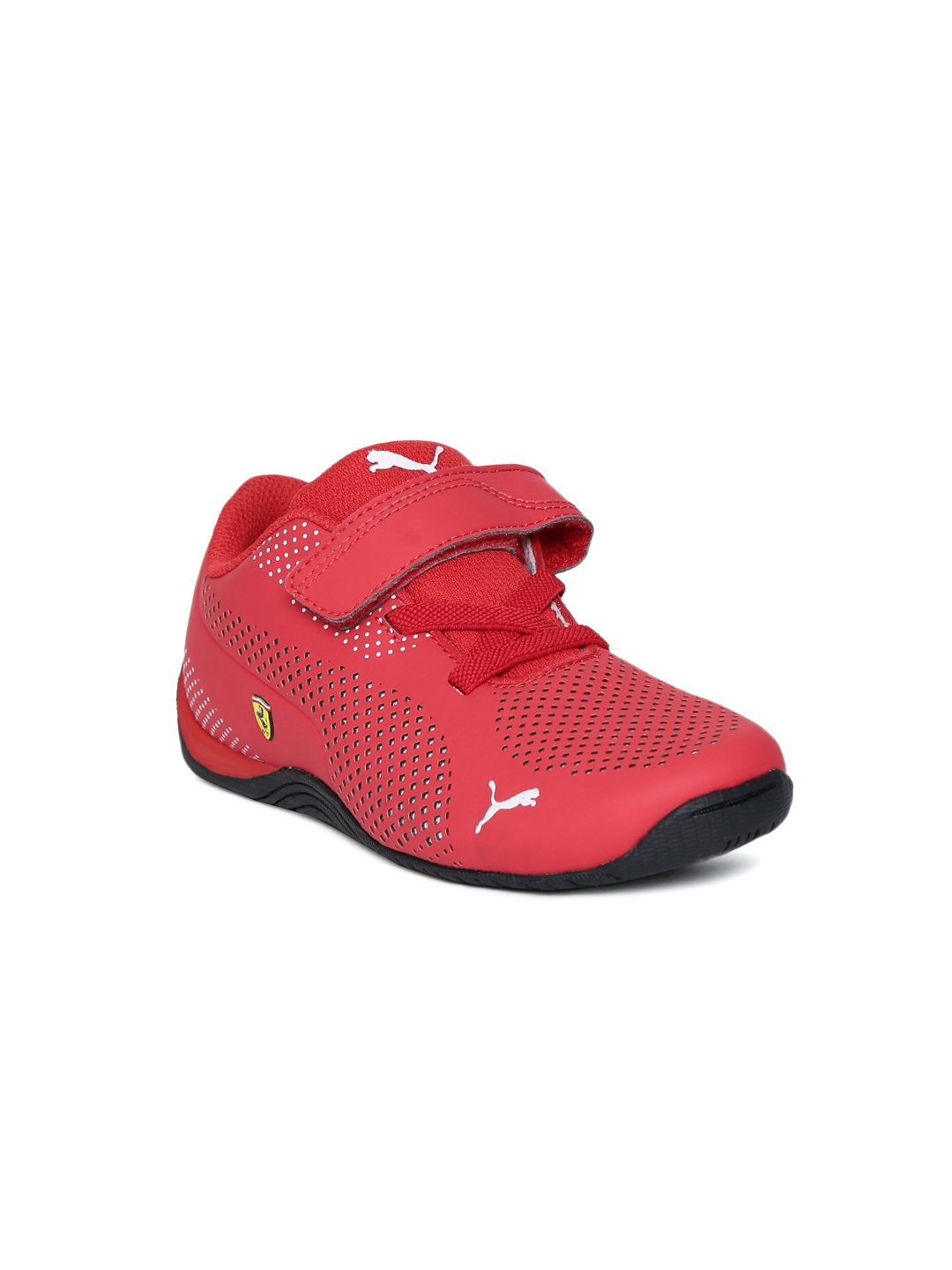 c97dea9d4206 Buy Puma Kids Red SF Drift Cat 5 Ultra V PS Perforated Sneakers ...