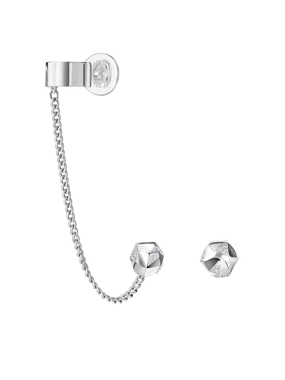 Buy SWAROVSKI Jean Paul Gaultier For Atelier Reverse Hoop Pierced ... ed7a94cc6