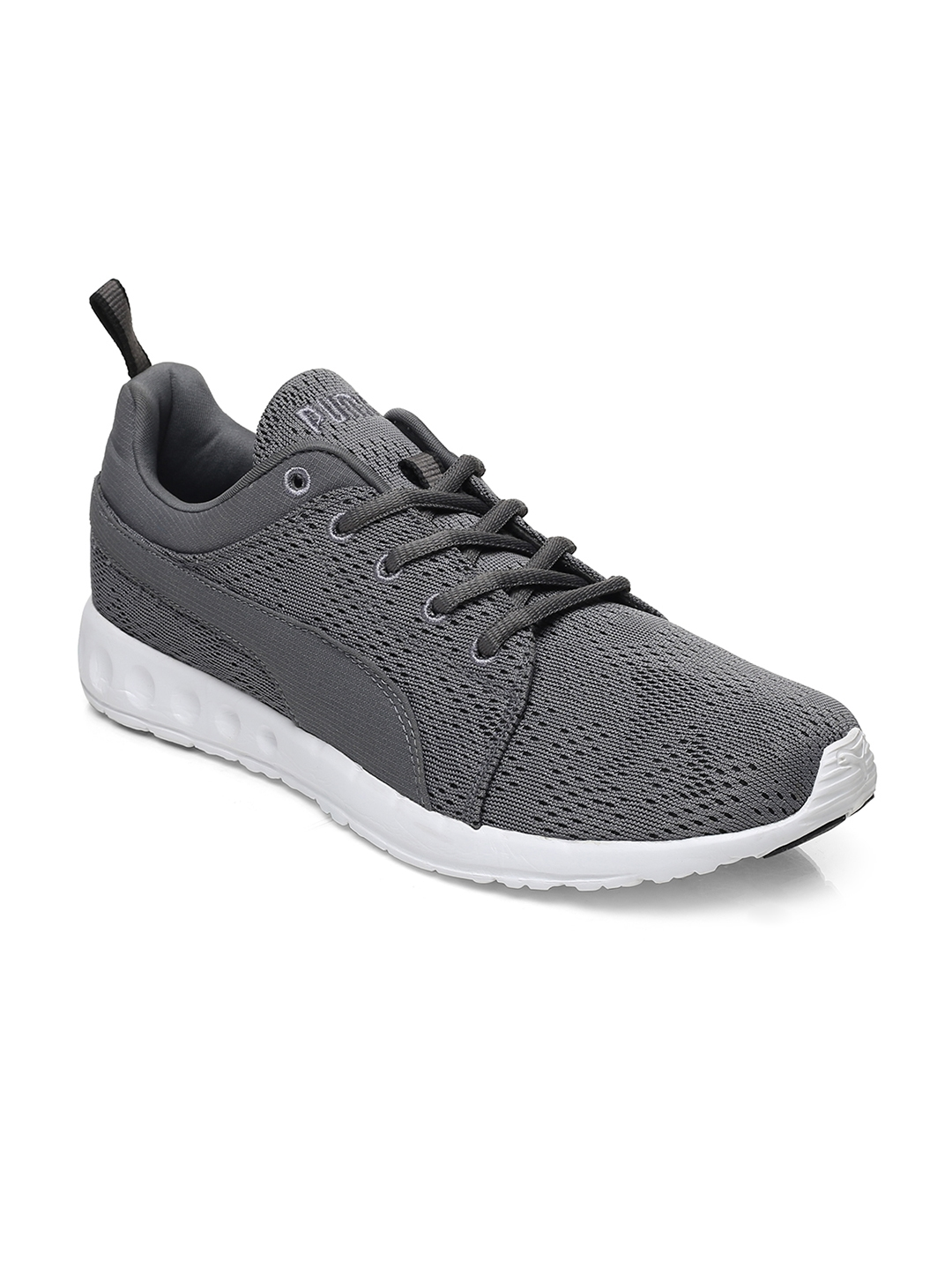 on sale 5a36f b26a4 Buy Puma Men Grey Carson Runner Camo Mesh IDP Running Shoes - Sports ...