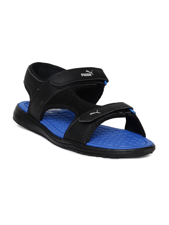 4fdbc3393e8c Buy Puma Men Black Cydon DP Sports Sandals - Sports Sandals for Men ...