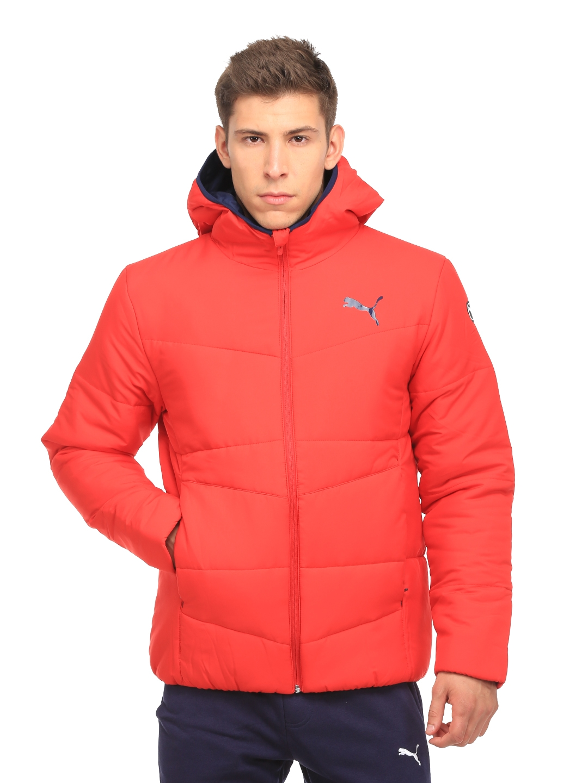 8434ec113 Buy Puma Men Red ESS Hooded Down Padded Jacket - Jackets for Men ...