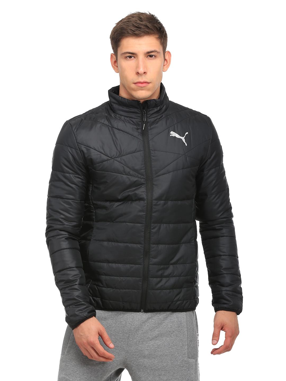 eaeda46a951c Buy Puma Men Black Active 600 PackLite Down Solid Padded Jacket ...