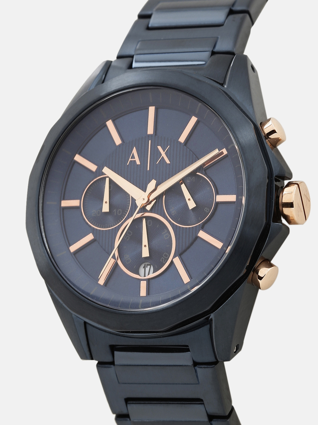 8ab7f6d10a Buy Armani Exchange Men Blue Analogue Watch AX2607I - Watches for ...