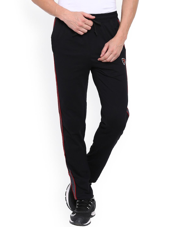 4f232707d1 Buy Sporto Red Black Slim Fit Track Pants - Track Pants for Men ...