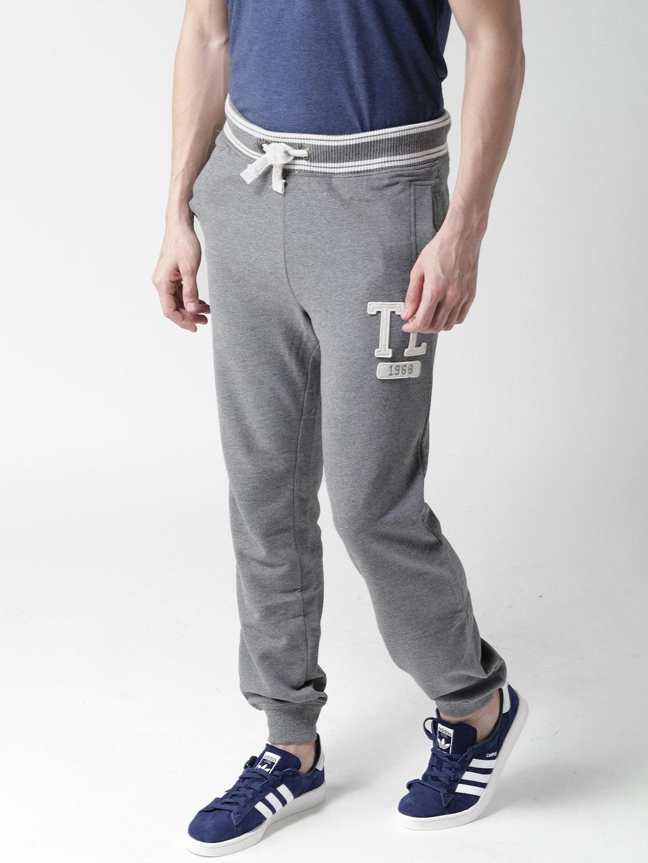 8cb1cc72d Buy Tokyo Laundry Grey Melange Joggers - Track Pants for Men 1986569 ...