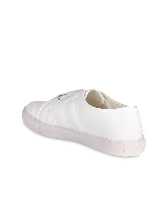 d0e20d0b59 Buy 20Dresses Women White Slip On Sneakers - Casual Shoes for Women ...