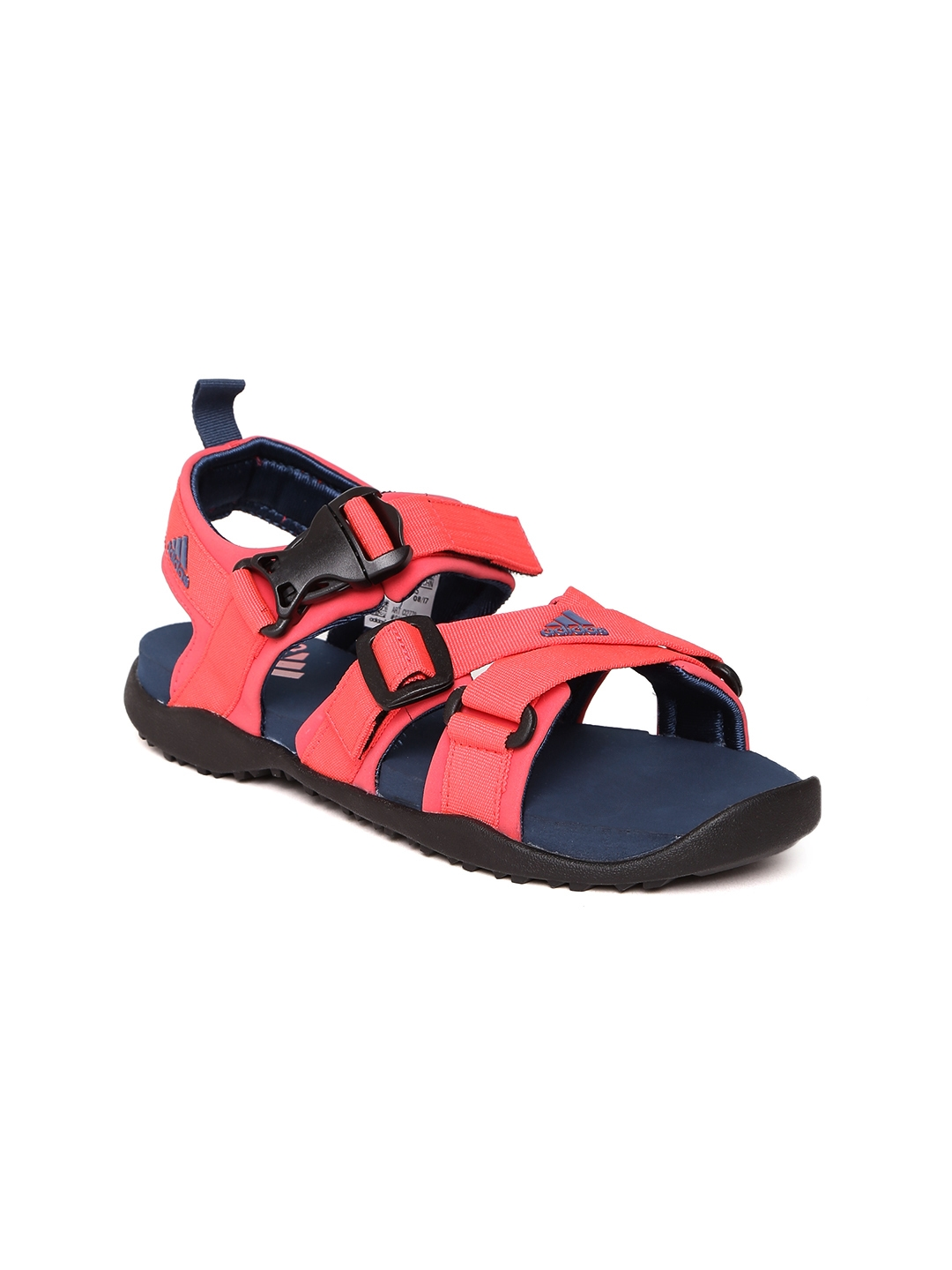 2674ae874cd45b Buy Adidas Women Coral Red GLADI Sports Sandals - Sports Sandals for ...