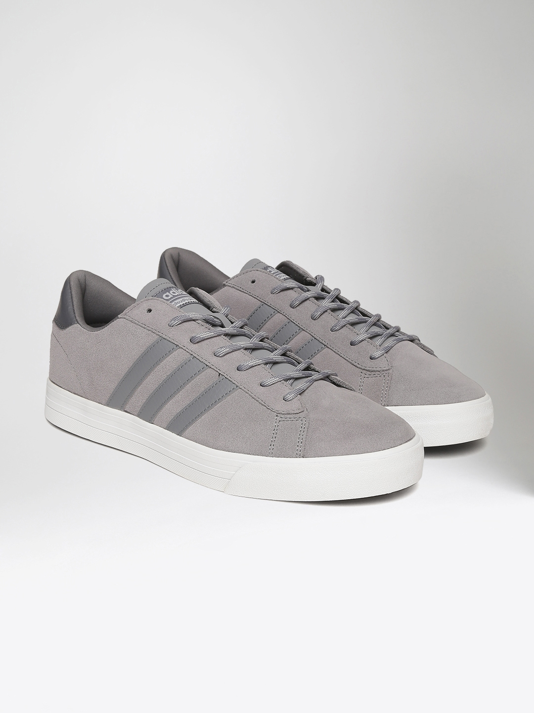 huge selection of 1b810 23fee ADIDAS NEO Men Grey CloadFoam Super Daily Sneakers
