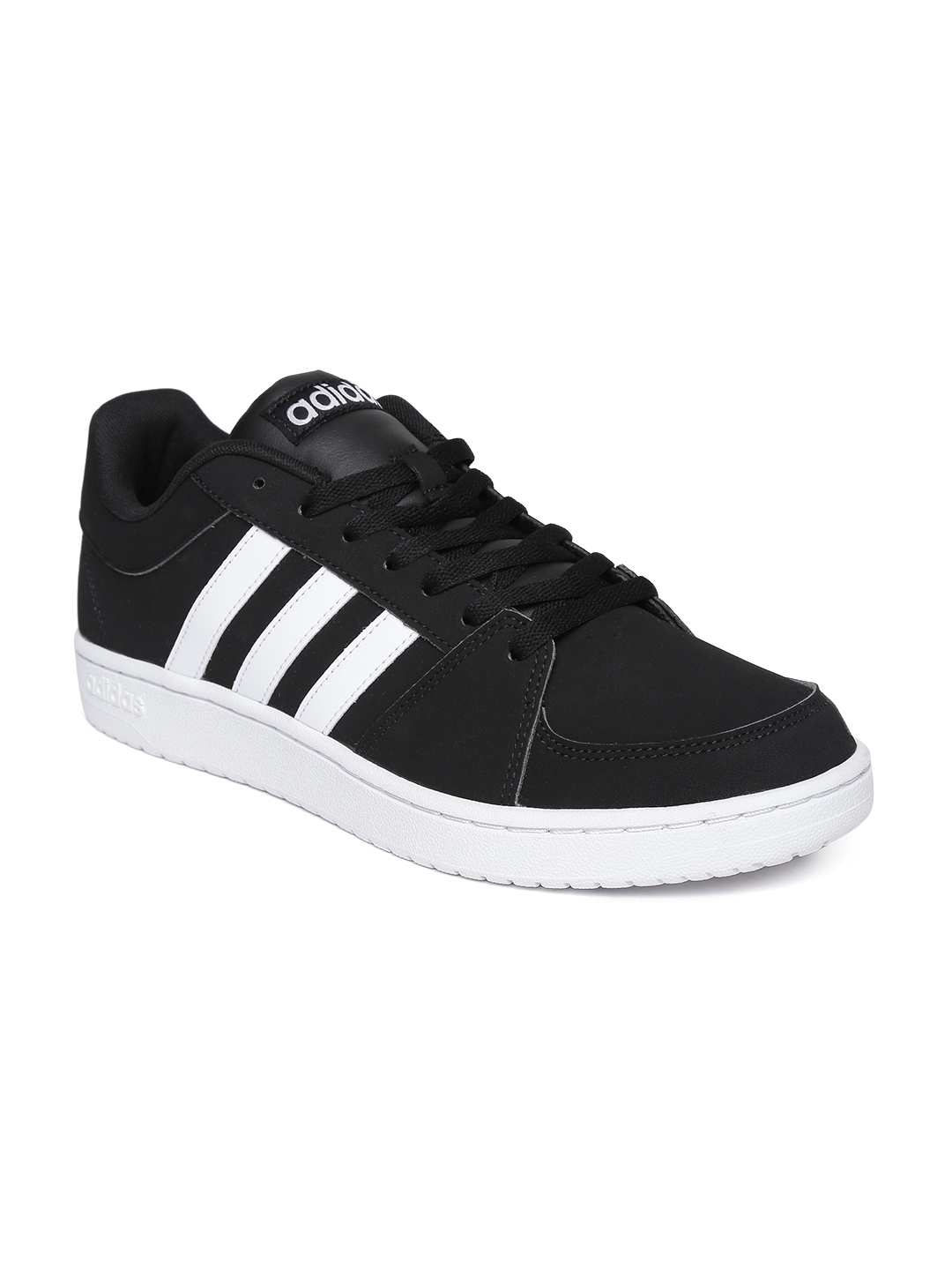 Adidas NEO Men Black VS Hoops Sneakers
