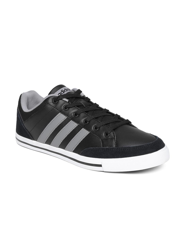 release date: 4eae0 2e805 ... italy adidas neo men black cacity leather sneakers a2a4e fe541