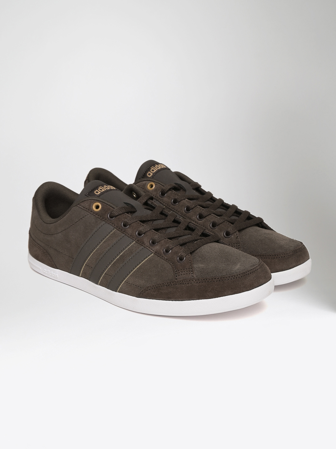 cc0af21f9f1d Buy ADIDAS NEO Men Coffee Brown CAFLAIRE Suede Sneakers - Casual ...